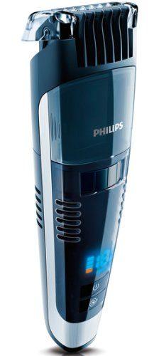 Philips QT4090 32 Black Pro Stubble Trimmer with Turbo Vacuum